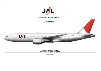 Départ le 27/07 à destination de Tôkyô par un boeing 777 de la JAL dans transports JAL--777-200